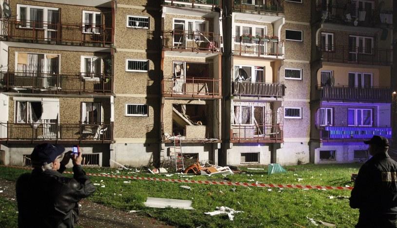 Do wybuchu gazu doszło w jednym z bloków przy ulicy Energetyki w Bytomiu /PAP