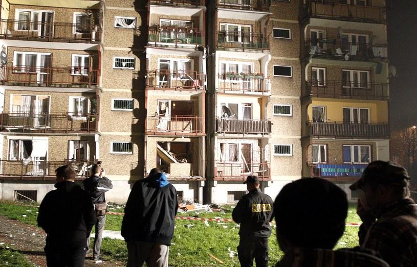 Do wybuchu gazu doszło we wtorkowy wieczór /Andrzej Grygiel /PAP