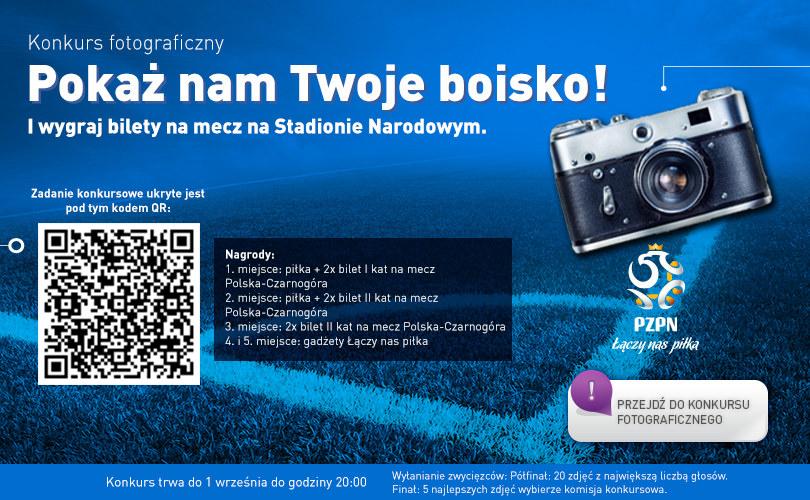 Do wygrania bilety na mecz Polska - Czarnogóra /PZPN