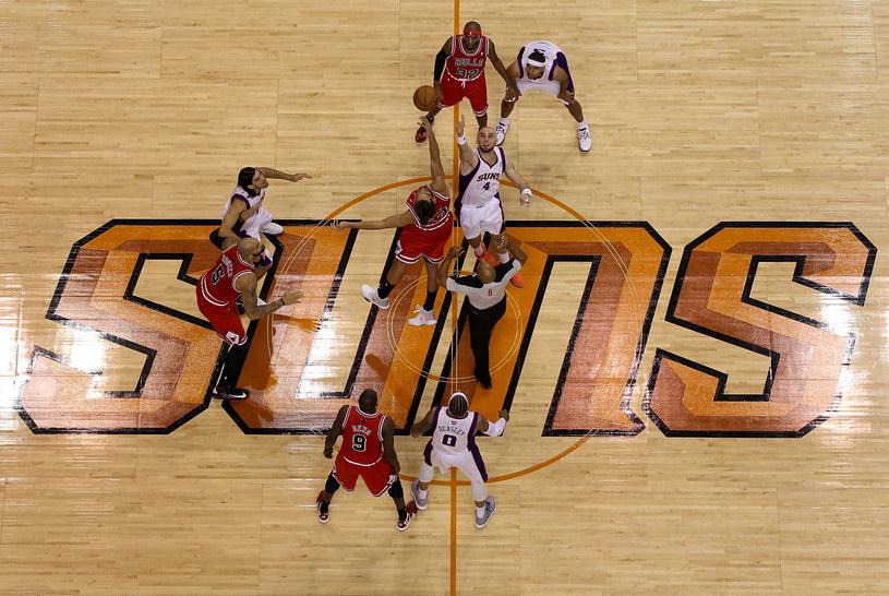 Do wyłonienia zwycięzcy meczu Suns - Bulls potrzebna była dogrywka /AFP
