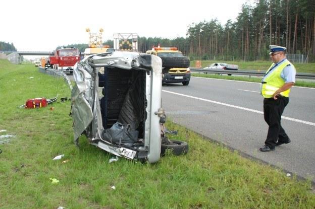 Do wypadków doszło na dwóch nitkach autostrady /Policja