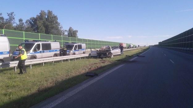 Do wypadku doszło 2 lipca 2020r około godz. 5.30 na 314 kilometrze autostrady A1