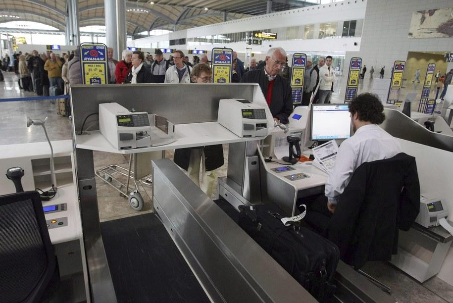 Do wypadku doszło na lotnisku w Alicante /MORELL /PAP/EPA