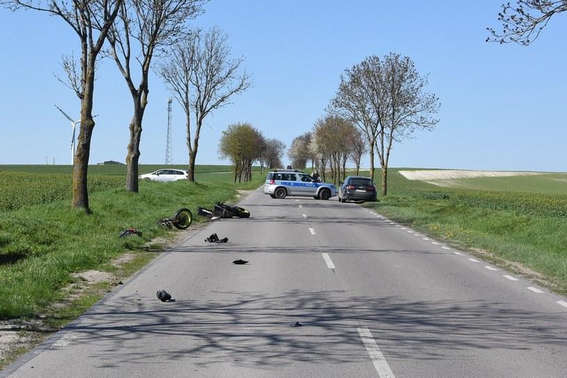 Do wypadku doszło na prostej drodze, przy pięknej pogodzie... /Policja