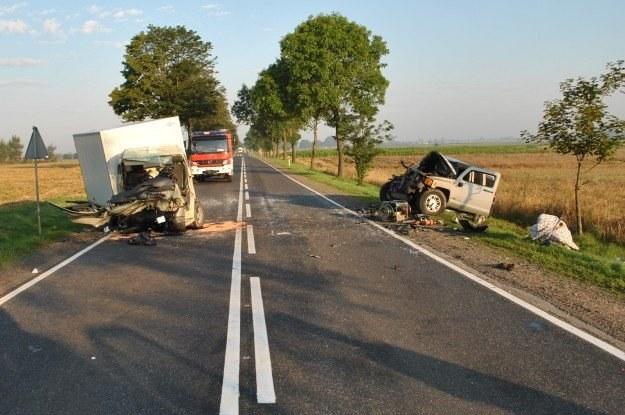 Do wypadku doszło na prostym odcinku drogi /Policja