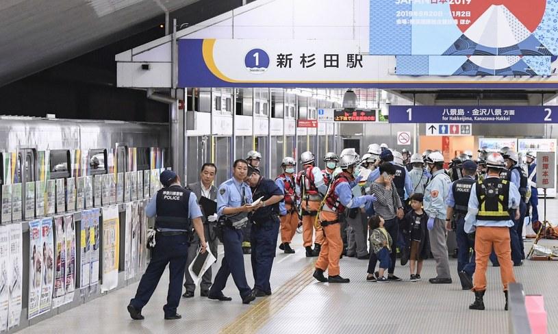 Do wypadku doszło na stacji Shin-Sugita /KYDPL KYODO/Associated Press /East News