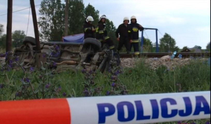 Do wypadku doszło na trasie Toruń - Grudziądz /TVP Info