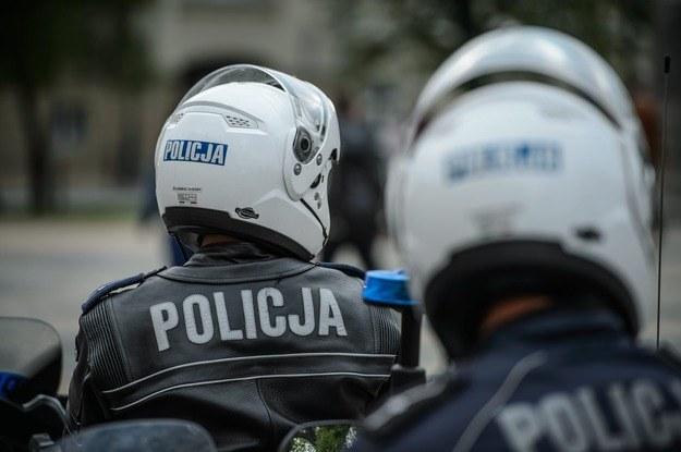 Do wypadku doszło w czasie policyjnego patrolu /Wojciech Pacewicz /PAP
