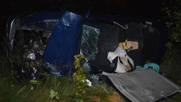 Do wypadku doszło w czwartek około godziny 22 w Steklinie koło Torunia /Policja