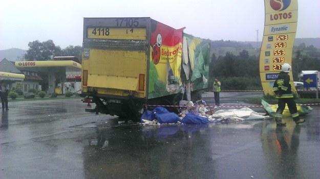 Do wypadku doszło w pobliżu Tenczyna /Michał Białoński /INTERIA.PL