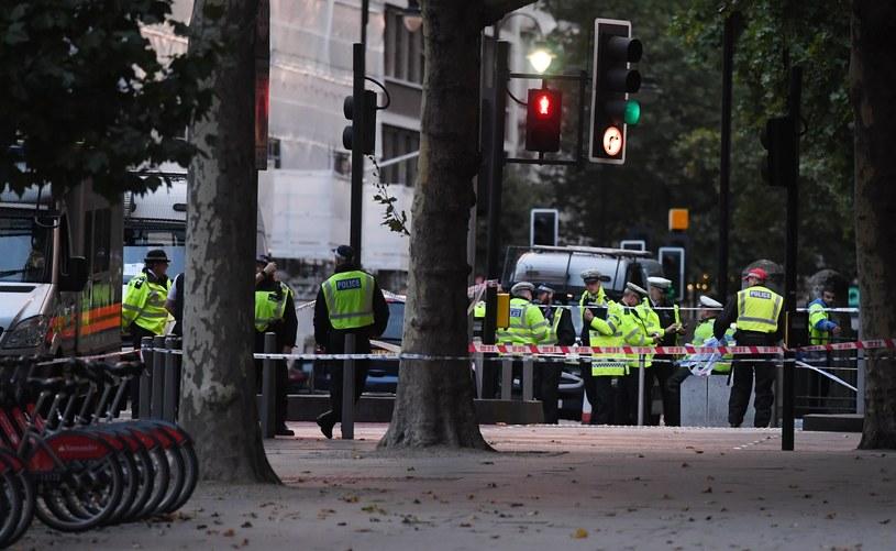 Do wypadku doszło w sobotę w Londynie /FACUNDO ARRIZABALAGA /PAP/EPA