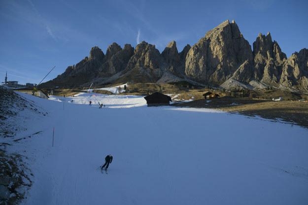 Do wypadku doszło we włoskich Alpach (zdjęcie ilustracyjne) /AFP