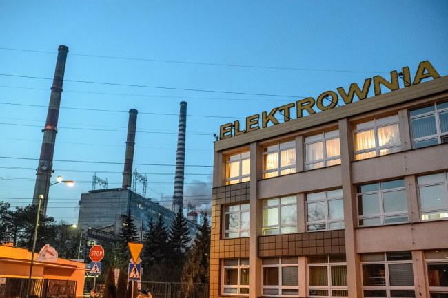 Do wypadku w elektrowni doszło wczoraj /Wojciech Pacewicz /PAP