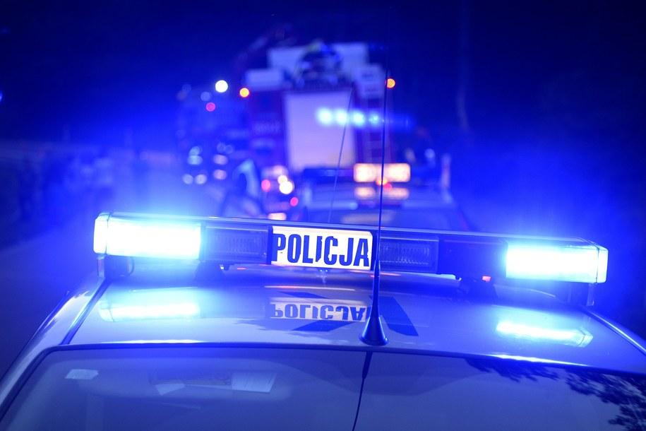 Do wypadku z udziałem 8 aut doszło na drodze ekspresowej S7 na odcinku Rabka Zdrój – Myślenice /Darek Delmanowicz /PAP
