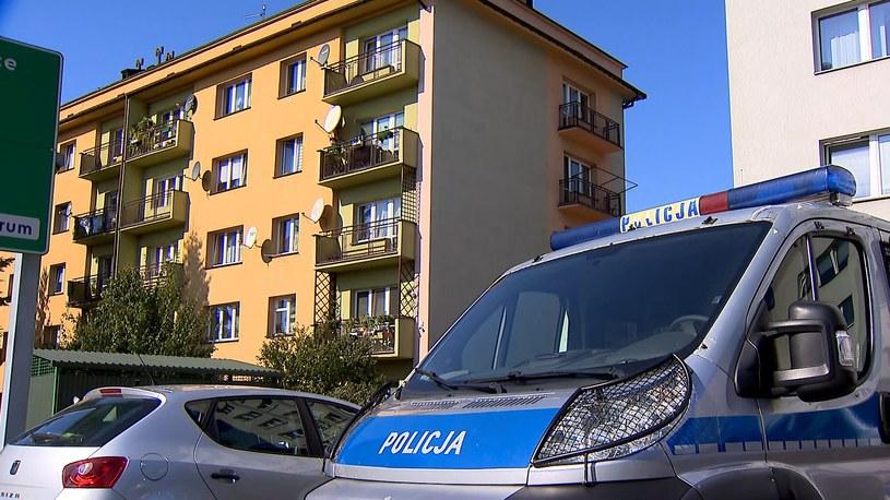 Do zabójstwa doszło w bloku przy ul. Krakowskiej w Tarnowie /Polsat News /Polsat News