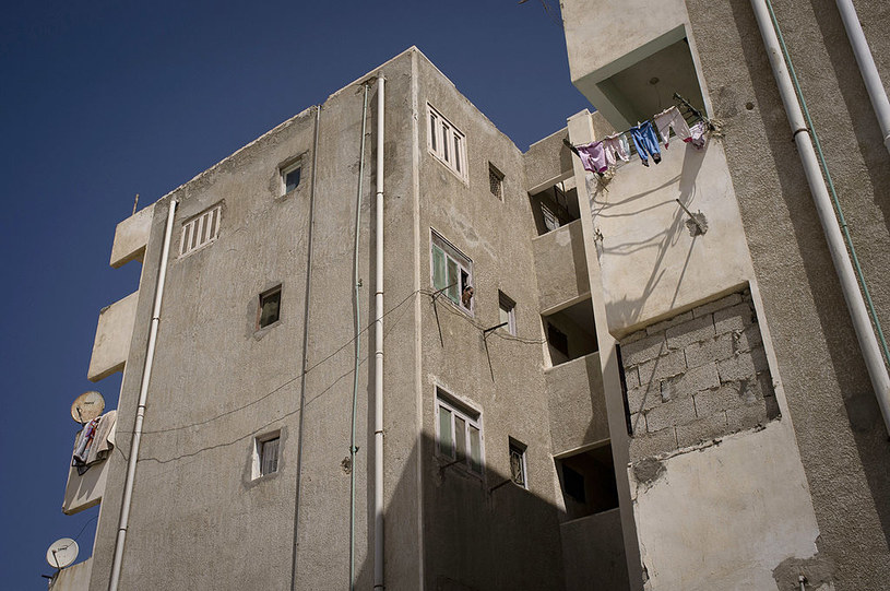 Do zabójstwa honorowego w Kairze doszło w jednej z kamienic /Getty Images