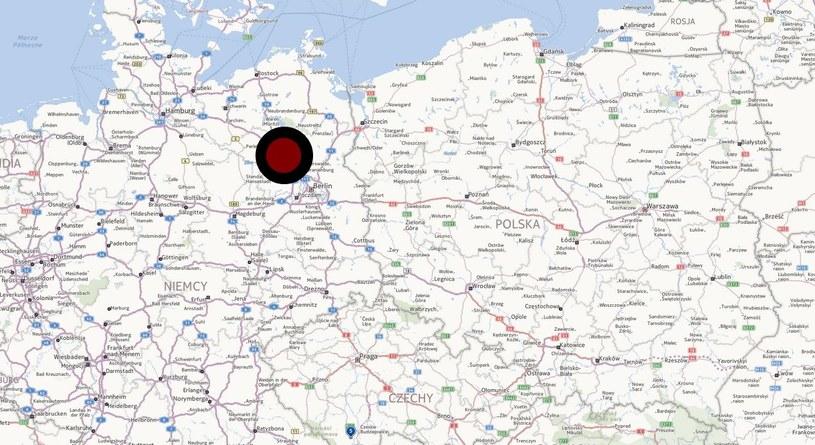 Do zajścia doszło w niemieckiej Brandenburgii /INTERIA.PL