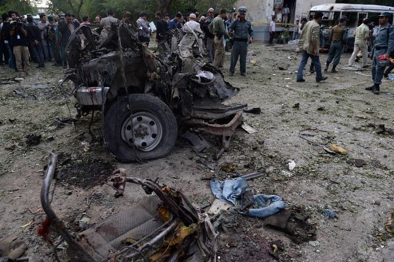 Do zamachu doszło w Kabulu /AFP