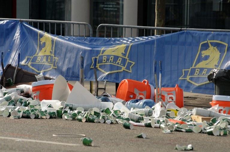 Do zamachu terrorystycznego na mecie maratonu w Bostonie doszło 15 kwietnia /AFP