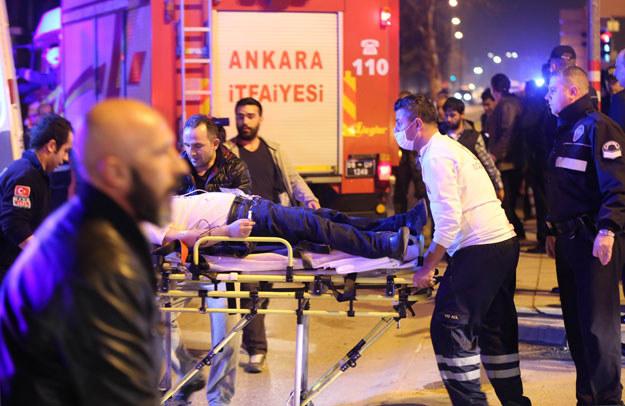 Do zamachu w centrum tureckiej stolicy /AFP