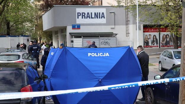 Do zbrodni doszło 7 maja, w pralni na warszawskim Gocławiu /Piotr Szydłowski /RMF FM