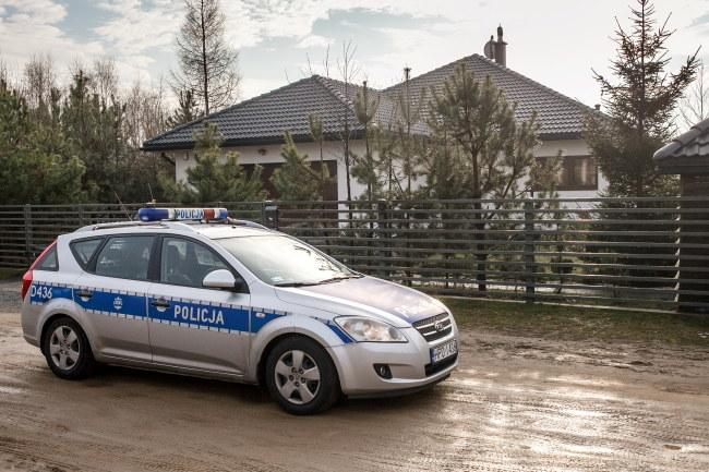 Do zbrodni doszło w tym domu /Wojciech Pacewicz /PAP