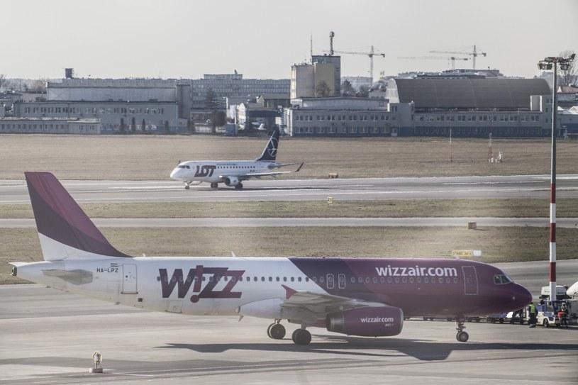 Do zdarzenia doszło na warszawskim Okęciu /Maciej Luczniewski/REPORTER /Reporter