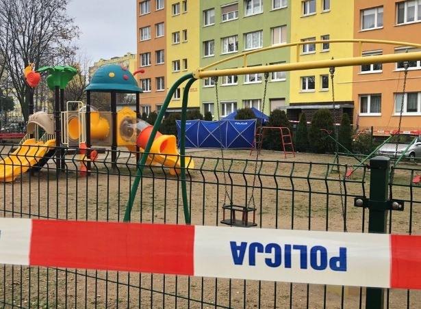 Do zdarzenia doszło obok placu zabaw /Mateusz Chłystun /RMF FM