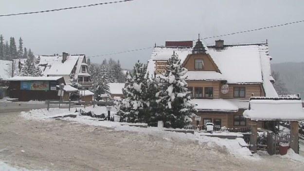 Do zdarzenia doszło w centrum Bukowiny Tatrzańskiej /TVN24/x-news