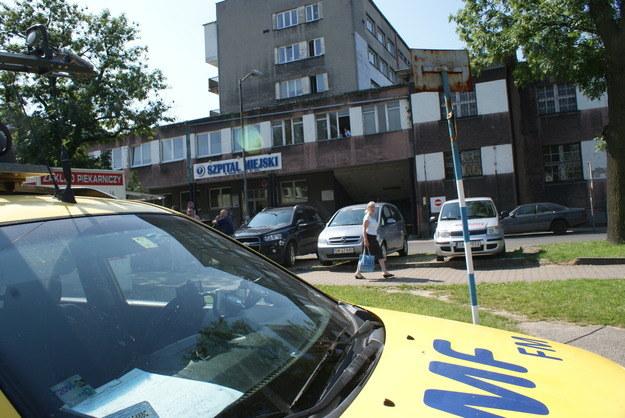 Do zdarzenia doszło w tym szpitalu /Jacek Skóra /RMF FM