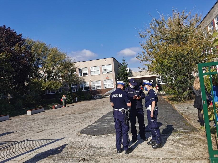 Do zdarzenia doszło w V LO w Zielonej Górze /Agnieszka Der /RMF MAXXX