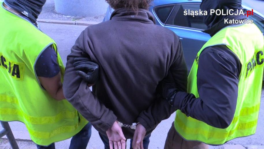 Do zdarzenia doszło wczoraj kilka minut po godzinie 19.00 na ulicy Chorzowskiej /Śląska policja /Policja