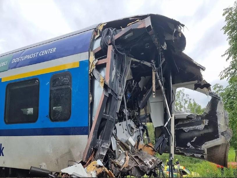 Do zderzenia pociągów doszło po 8 rano w środę /materiały prasowe