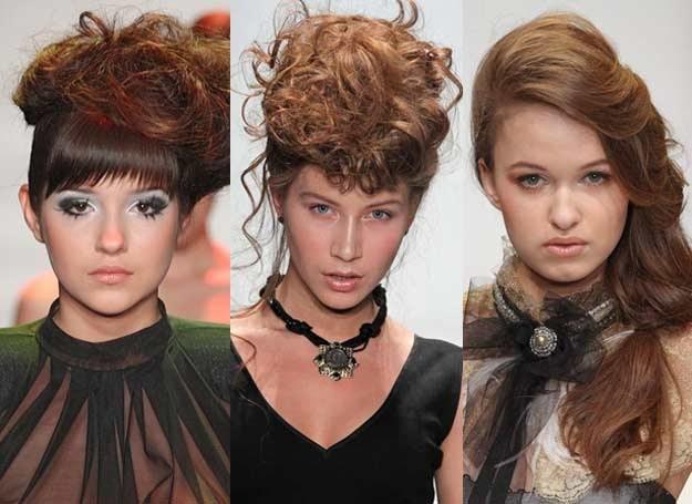 Dobież fryzurę i makijaż do typu urody i charakteru sukni /East News/ Zeppelin