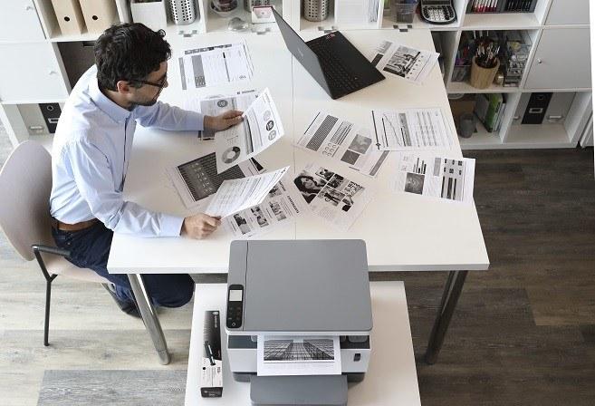 Dobra drukarka potrafi usprawnić pracę firmy /123RF/PICSEL