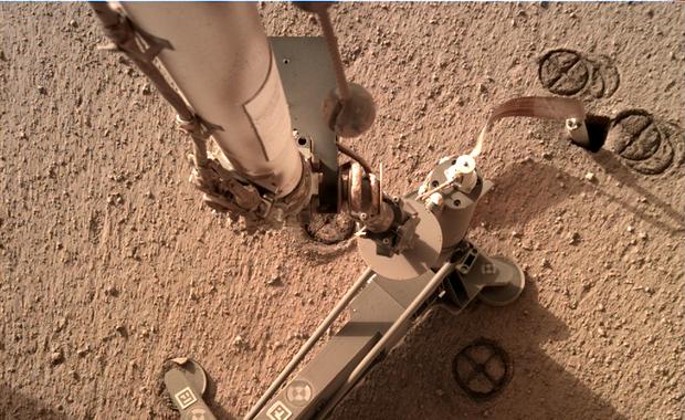 Dobre wieści z Marsa. Kret odsłonięty