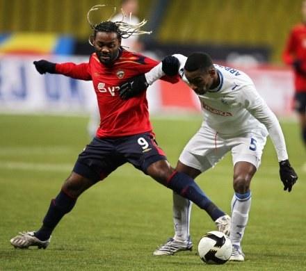 Dobre występy Lecha w Pucharze UEFA to jedyny sukces naszych drużyn /AFP