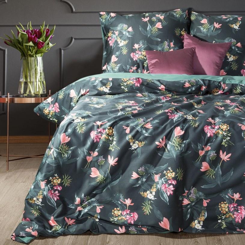Dobrze dopasowana pościel idealnie dopełnia wystrój sypialni /materiały promocyjne