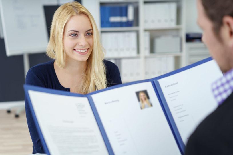 Dobrze napisane CV to gwarancja udanej rozmowy kwalifikacyjnej /123RF/PICSEL