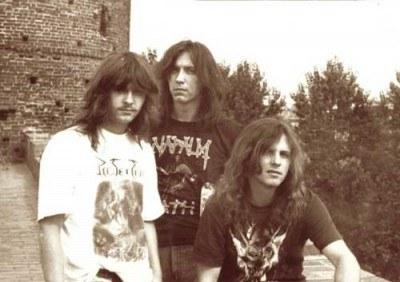 Docent (w środku) w grupie Vader w 1989 roku /Oficjalna strona zespołu