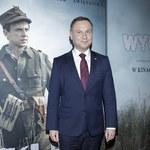 """Doda i prezydent Duda na premierze """"Wyklętego"""""""