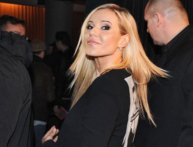 Doda na premierze swojego koncertowego DVD (fot. Andras Szilagyi) /MWMedia