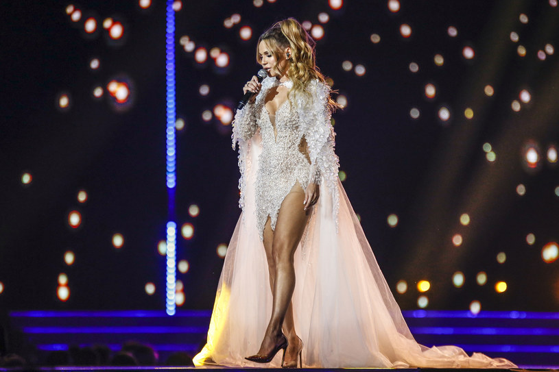 Doda podczas gali Miss Supranational 2019 /AKPA