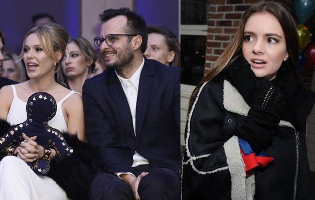 Doda z Mateuszem i Maria Niklińska /- /MWMedia