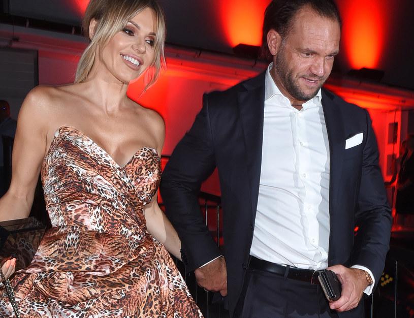 Doda z mężem, Emilem /Andras Szilagyi /MWMedia