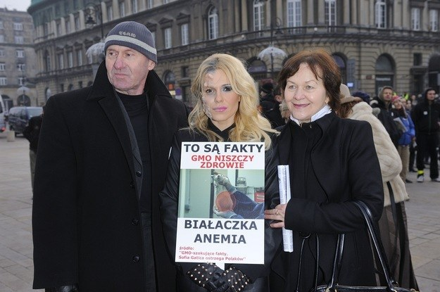 Doda z rodzicami /Jarosław Antoniak /MWMedia