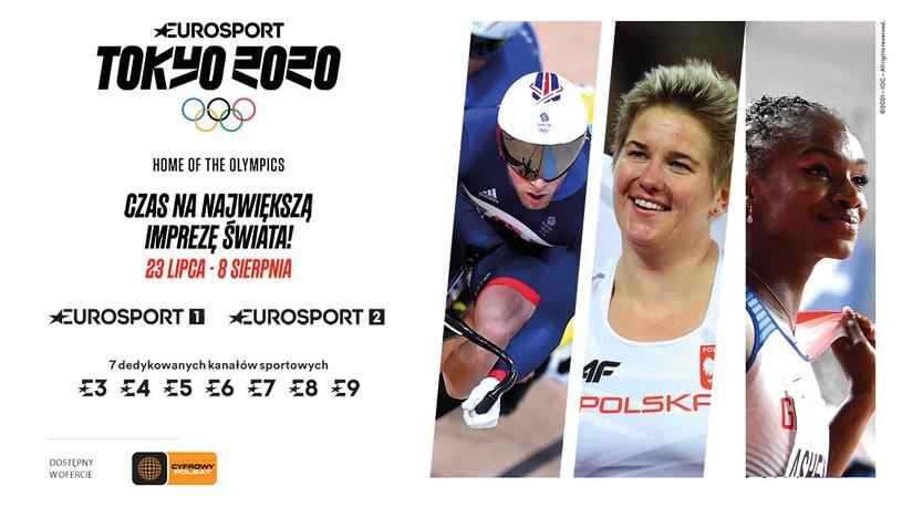 Dodatkowe kanały Eurosport z Igrzyskami Olimpijskimi dla wszystkich abonentów Cyfrowego Polsatu i Netii. /materiały prasowe