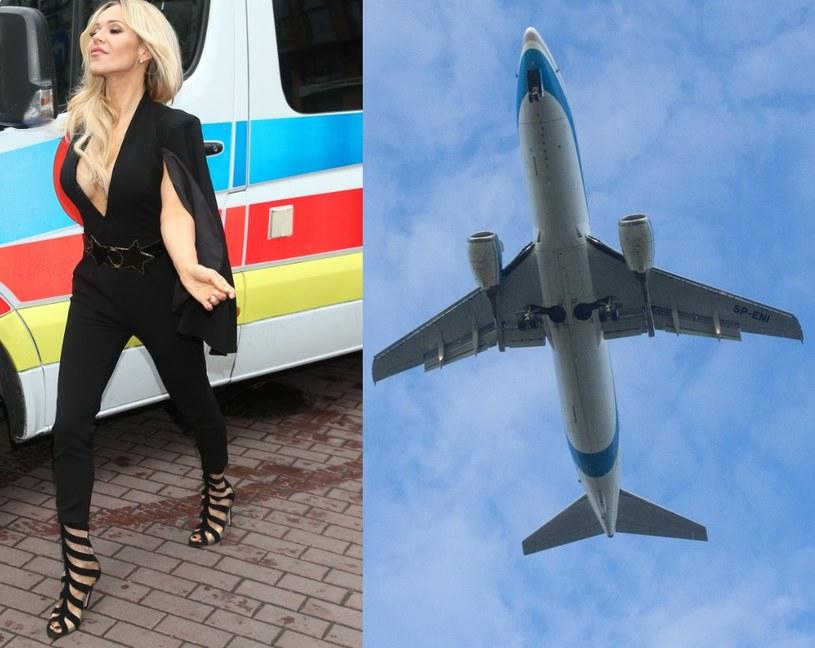 Dodę musieli reanimować na pokładzie samolotu! (MWMedialEastNews) /- /East News