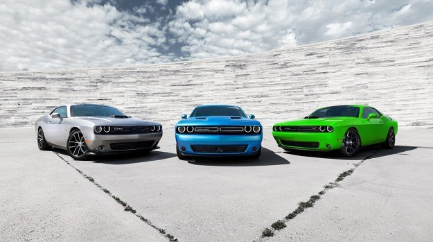 Dodge Challenger po liftingu /Dodge