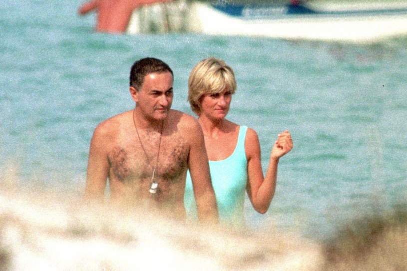 Dodi Al-Fayed i Diana /SplashNews.com /East News
